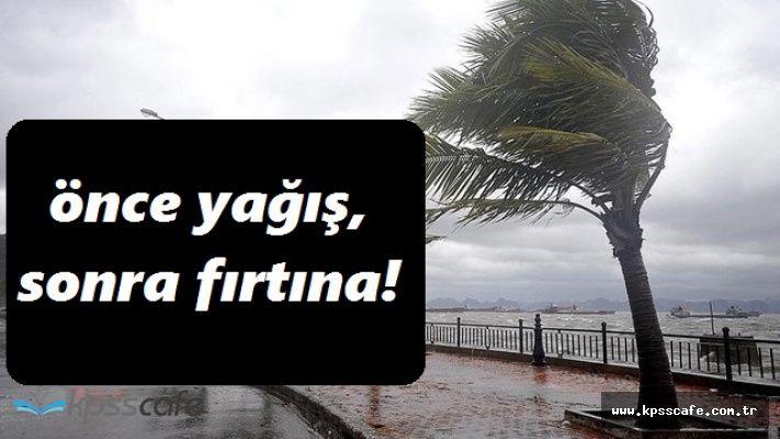 Meteoroloji Vatandaşı Şaşırtmaya Devam Ediyor! Fırtına ve Yağış Uyarısı