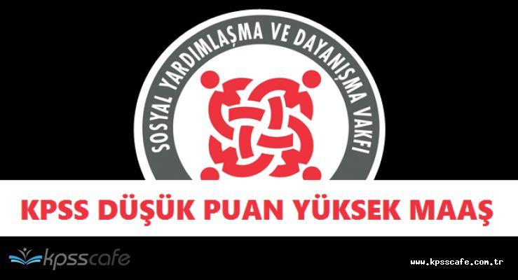 Kamuya KPSS Düşük Puan ile Yüksek Maaşlı Kamu Personeli Alımı Başvuruları Başladı