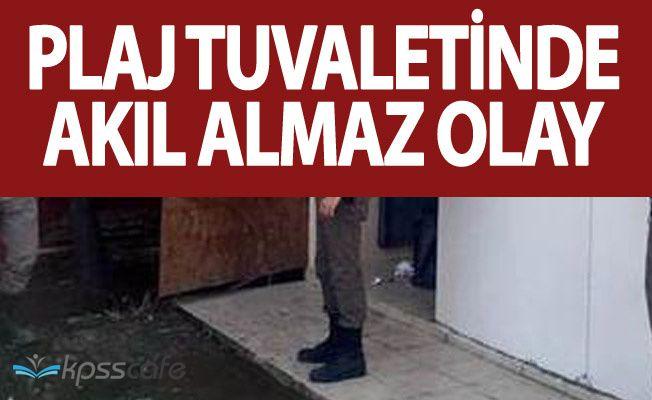 Tekirdağ'da Plaj Tuvaletinde Skandal! 17 Yaşındaki Kız , Bebeğini Bırakıp Kaçtı!