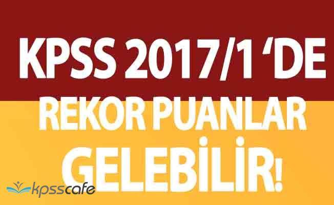 KPSS 2017/1 Ortaöğretim Tercihleri Puan Tahminleri!