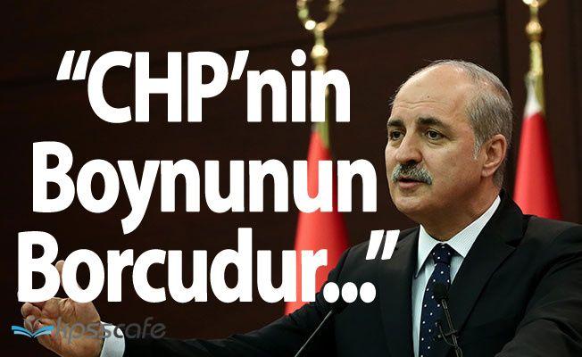 """Hükümetten CHP Yürüyüşüyle İlgili """"15 Temmuz"""" Hatırlatması"""
