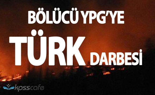 TSK Suriyedeki Bölücü Terör Örgütü YPG'ye Bomba Yağdırdı!