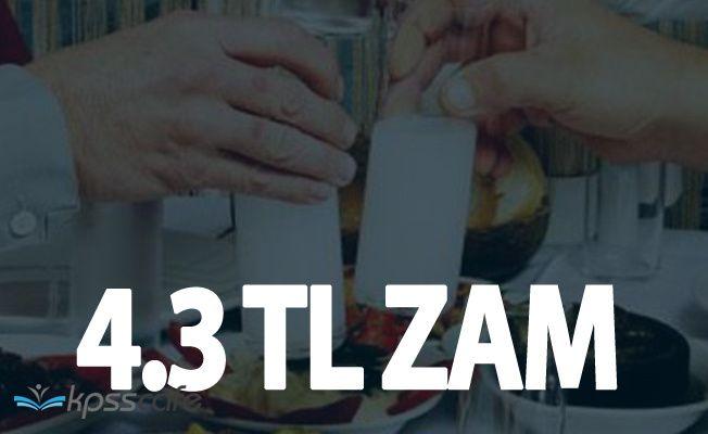 İçki Zammı Belli Oldu! Rakıya 4.3 Lira ÖTV Ayarı