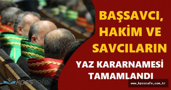 Hakimler ve Savcılar Kurulu HSK 32 İlin Başsavcısının ve 780 Hakim-Savcının Yerini Değiştirdi