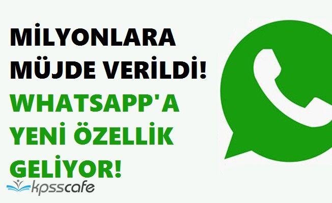 WhatsApp Yeni Özelliği ile Milyonları Mest Etmeye Devam Ediyor