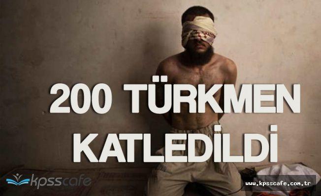 IŞİD Telafer'de Yüzlerce Türkmen'i Çocuk , Kadın Demeden Katletti!