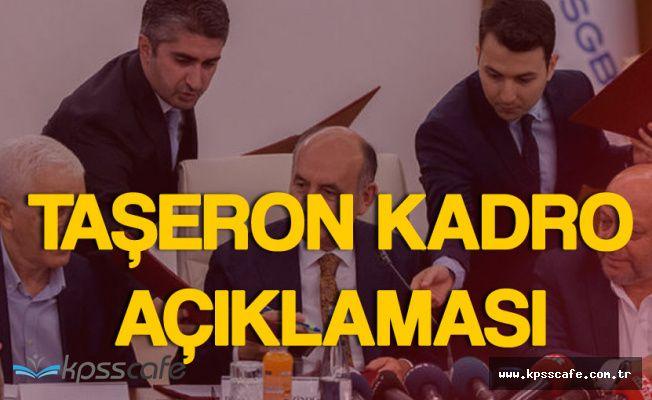 Hak-İş'ten Hükümete 'Taşerona Kadro' Çağrısı