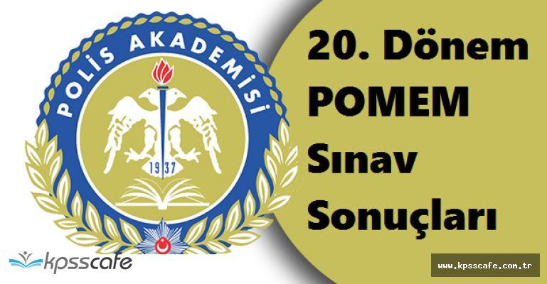 Polis Akademisi 20. Dönem POMEM Sınav Sonuçlarını Adayların Erişimine Açtı