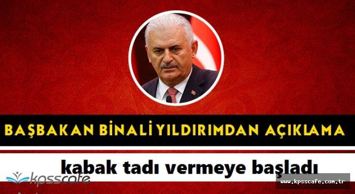 Başbakan Binali Yıldırım'dan İstanbul'daki Kılıçdaroğlu'na Sert Tepki!