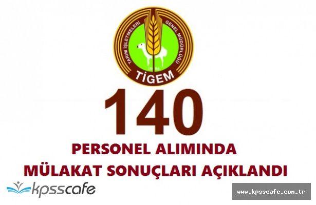 Tarım İşletmeleri Genel Müdürlüğü 140 İşçi Alımında Sonuçlar Açıklandı