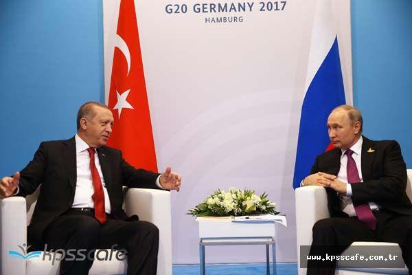 G20 Zirvesi'nde Recep Tayyip Erdoğan ile Vladimir Putin Görüşmesinden Kritik Söylemler