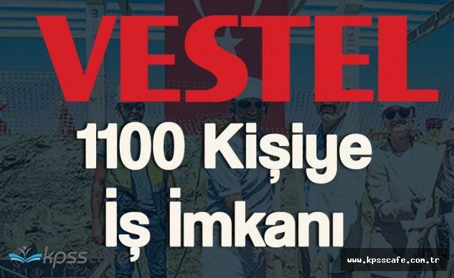 Vestel'den 1100 Kişiye İş İmkanı