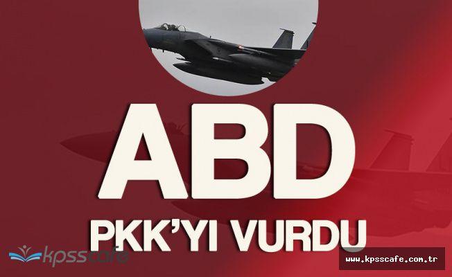 Flaş! ABD PKK'yı Vurdu ! 40 Terörist Yok Oldu