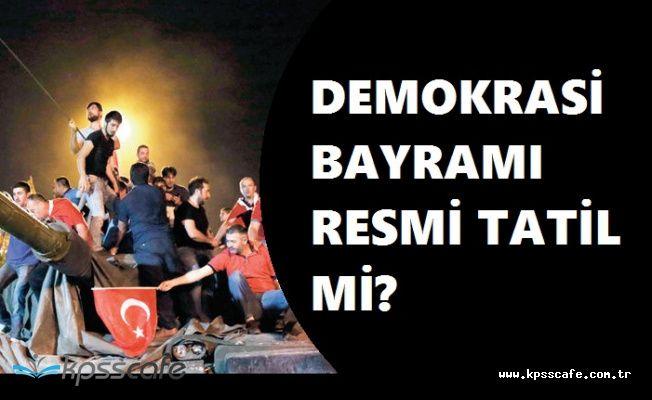 Demokrasi Bayramında Ücretsiz Ulaşım Kararı! 15 Temmuz Resmi Tatil mi?