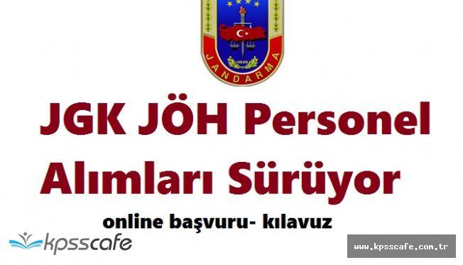 Jandarma Genel Komutanlığı JÖH Personel Alımları Sürüyor (Online Başvuru)
