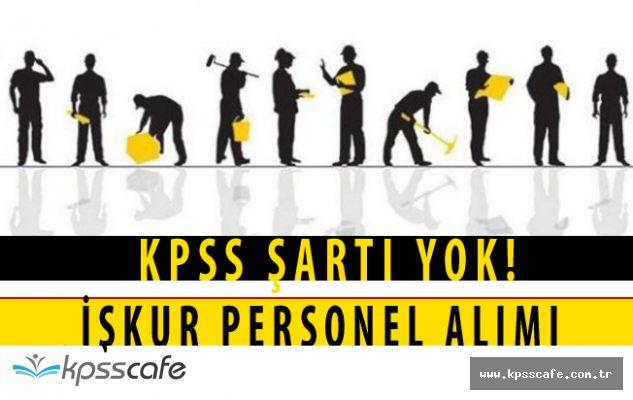 Belediye Başkanlıklarına KPSS ŞARTSIZ Daimi Personeller Alınıyor! (İlköğretim Mezuniyeti Yeterli)