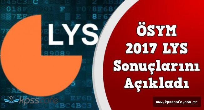 Son Dakika! 2017 LYS Sonuçları Açıklandı!