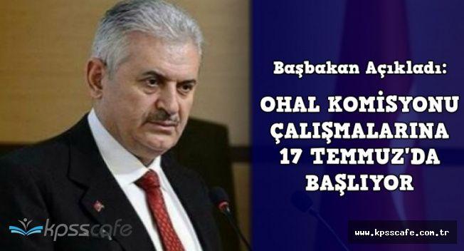 Başbakan OHAL Komisyonunun Çalışmaya Başlayacağı Tarihi ve İtiraz Sürecini Açıkladı