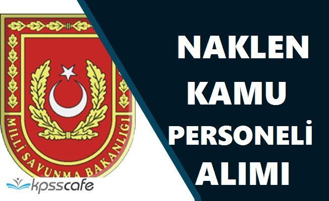 Milli Savunma Bakanlığı Kamu Personeli Alımlarında Son 2 Gün!