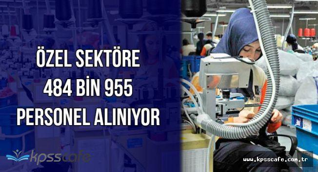 Temininde Sıkıntı Çekilen Meslekler: Özel Sektörde Çalışacak 484 Bin 955 Personel Aranıyor