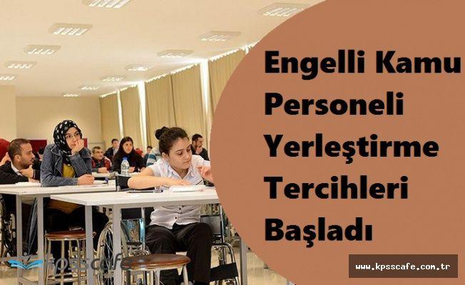 2017 EKPSS/KURA ile Engelli Kamu Personeli Yerleştirme Tercihleri Başladı (Kılavuz)