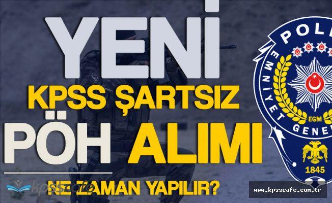 KPSS Şartsız Yeni Polis Özel Harekat Alımları için Tahmini Tarih !