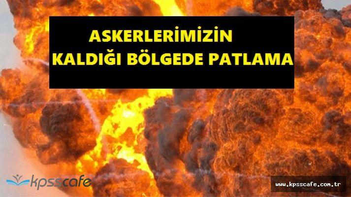 Kilis'te Askeri Alanda Yangın Çıktı, Mühimmatlar Patladı! Askerlerimiz Yaralandı