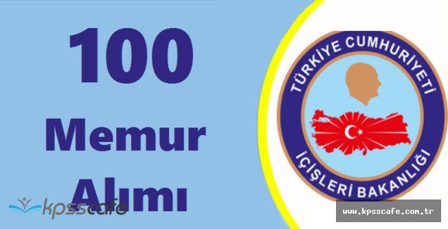 İçişleri Bakanlığı 100 Memur Alımı Yapacak! Başvurular Başlıyor