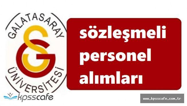 Galatasaray Üniversitesi'nce Yapılacak Olan Alımlarda Başvurular Sonlanıyor