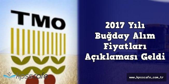 Toprak Mahsulleri Ofisi (TMO) 2017 Yılı Buğday Alım Fiyatları Açıklandı
