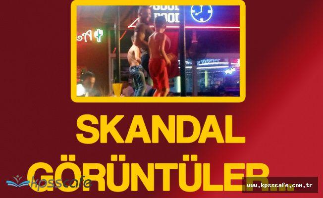 Fethiye'de Skandal Görüntüler ! 10 Yaşında Çocuklar Barda Yarı Çıplak Dans Etti