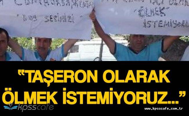 İşçiler Cumhurbaşkanı'na Mektup Göndererek 'Taşerona Kadro' İstedi