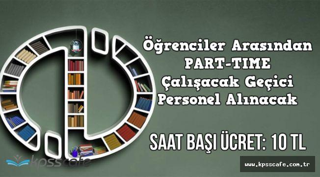 Anadolu Üniversitesi Öğrenciler Arasından Geçici Personel Alacak