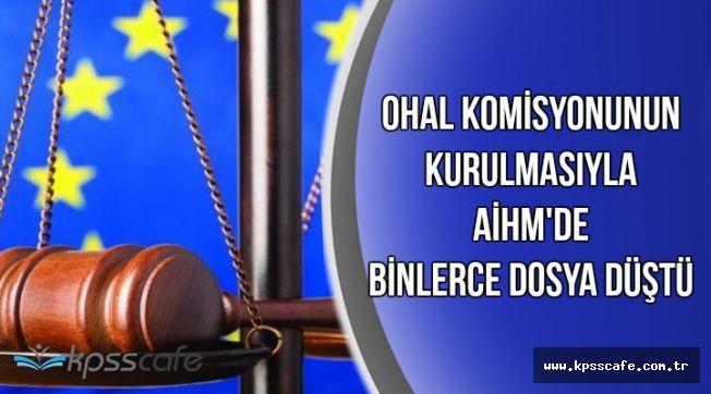 OHAL Komisyonunun Kurulmasıyla AİHM'de Binlerce Dosya Düştü