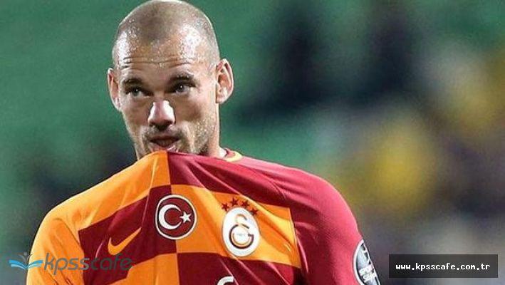 Wesley Sneijder Galatasaray'dan Gönderildi