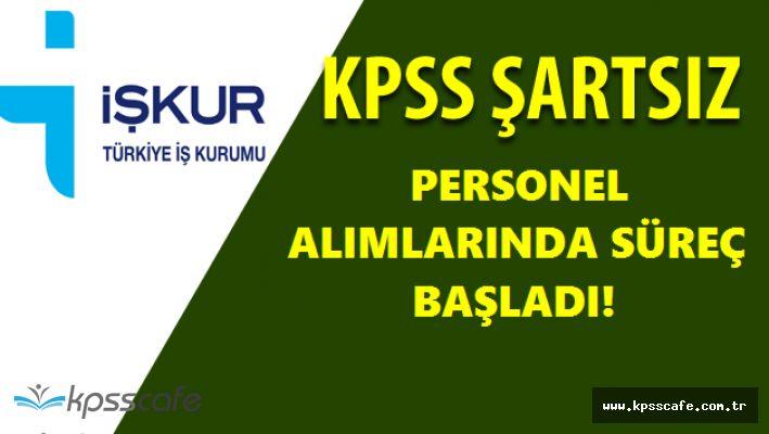 Belediye Başkanlıklarına KPSS ŞARTSIZ İlköğretim Mezunu Personel Alımları Yapılıyor