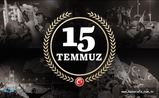 Bürokratlardan 15 Temmuz Demokrasi Bayramı Mesajları!