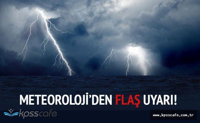 Meteroloji'den Sağanak Yağıştan Sonra Fırtına Uyarısı!