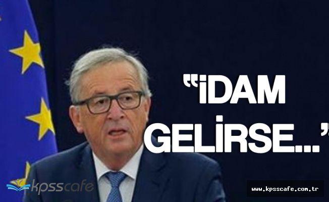 Avrupa Birliğinden Türkiye'ye Tehdit! 'İdam Gelirse...'