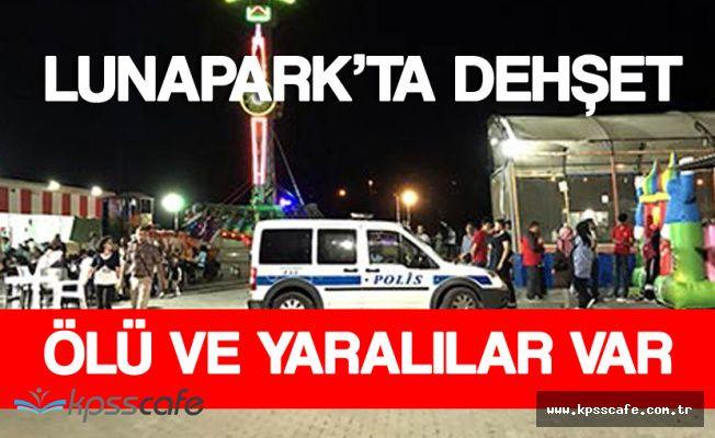 Kırşehir'deki Lunapark'ta Tren Faciası ! Ölü ve Yaralılar Var