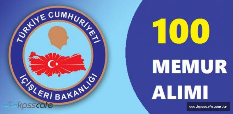 İçişleri Bakanlığı 100 Memur Alımı Başvuruları Bitiyor