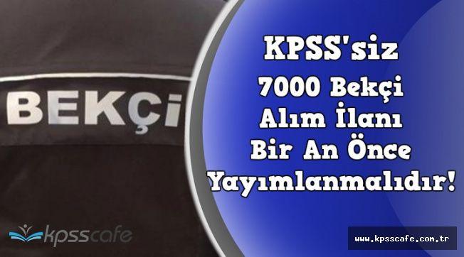 KPSS'siz 7 Bin Bekçi Alım İlanı Bir An Önce Yayımlanmalı (Başvuru Şartları ve Bekçi Maaşı)