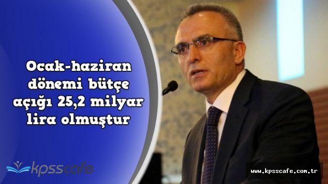 Maliye Bakanı Ağbal Ocak-Haziran Dönemi Bütçe Rakamlarını Açıkladı