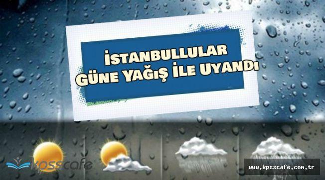 İstanbul Güne Yağmurla Başladı (18-19 Temmuz Hava Durumu)