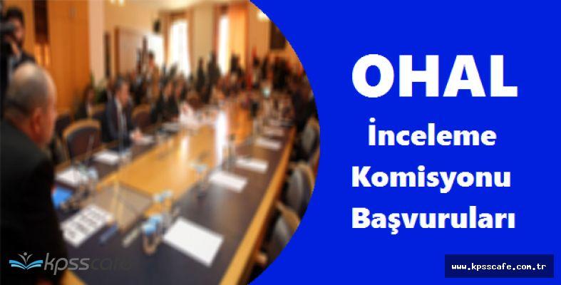 OHAL İnceleme Komisyonu Başvuruları Hakkında Önemli Açıklama!