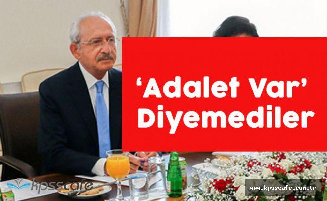 """Kemal Kılıçdaroğlu: """" Ülkede Adalet Var Diyemediler"""""""