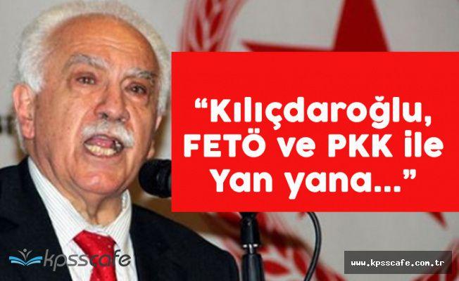 """Perinçek: """"CHP Liderine Bir Koluna PKK, Diğerine FETÖ'yü Taktı"""""""