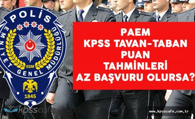 Kadın ve Erkek Polis Alımı PAEM 2017 Taban ve Tavan Puan Tahminleri! Başvuru Sayısı Az Olursa?