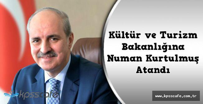 Nabi Avcı'nın Yerine Kültür Bakanlığına Atanan Numan Kurtulmuş Kimdir?