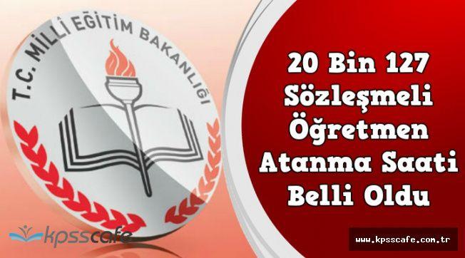 20 Bin 127 Öğretmen Alımı Atama Sonuçlarının Açıklanacağı Saat Belli Oldu